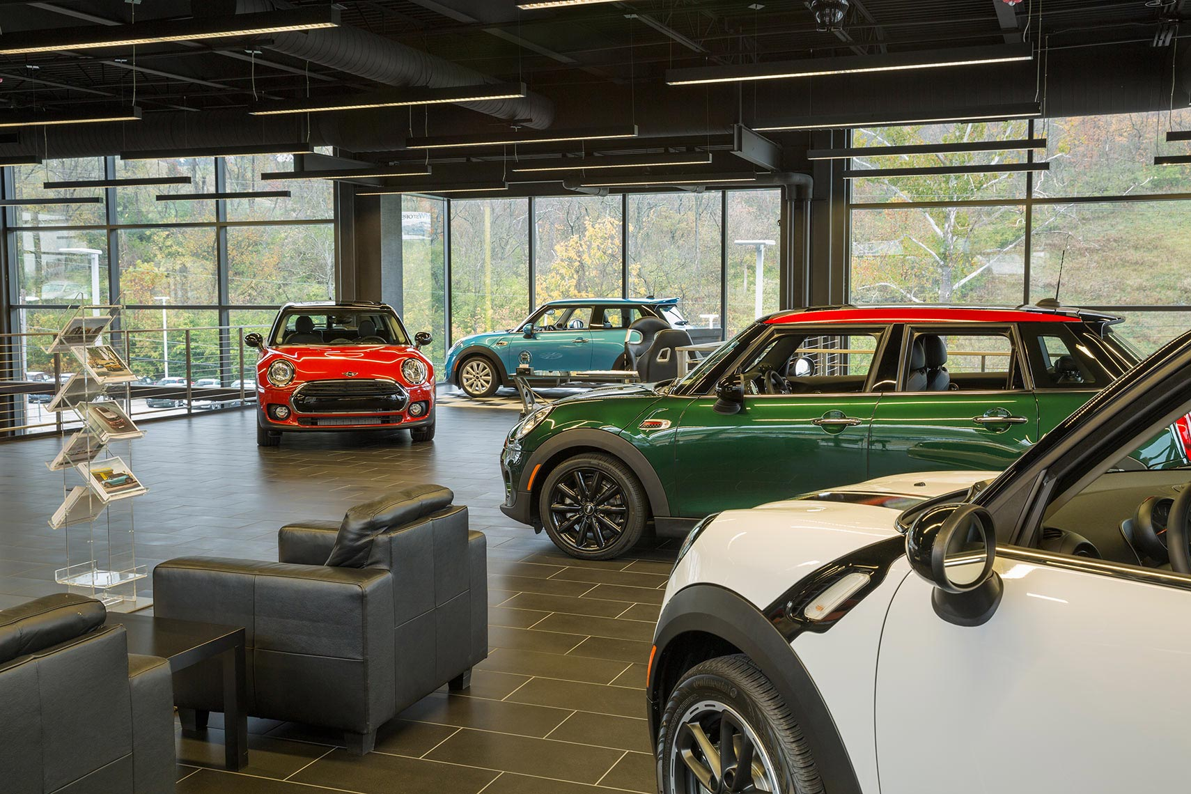 Mini Cooper Retail Architecture