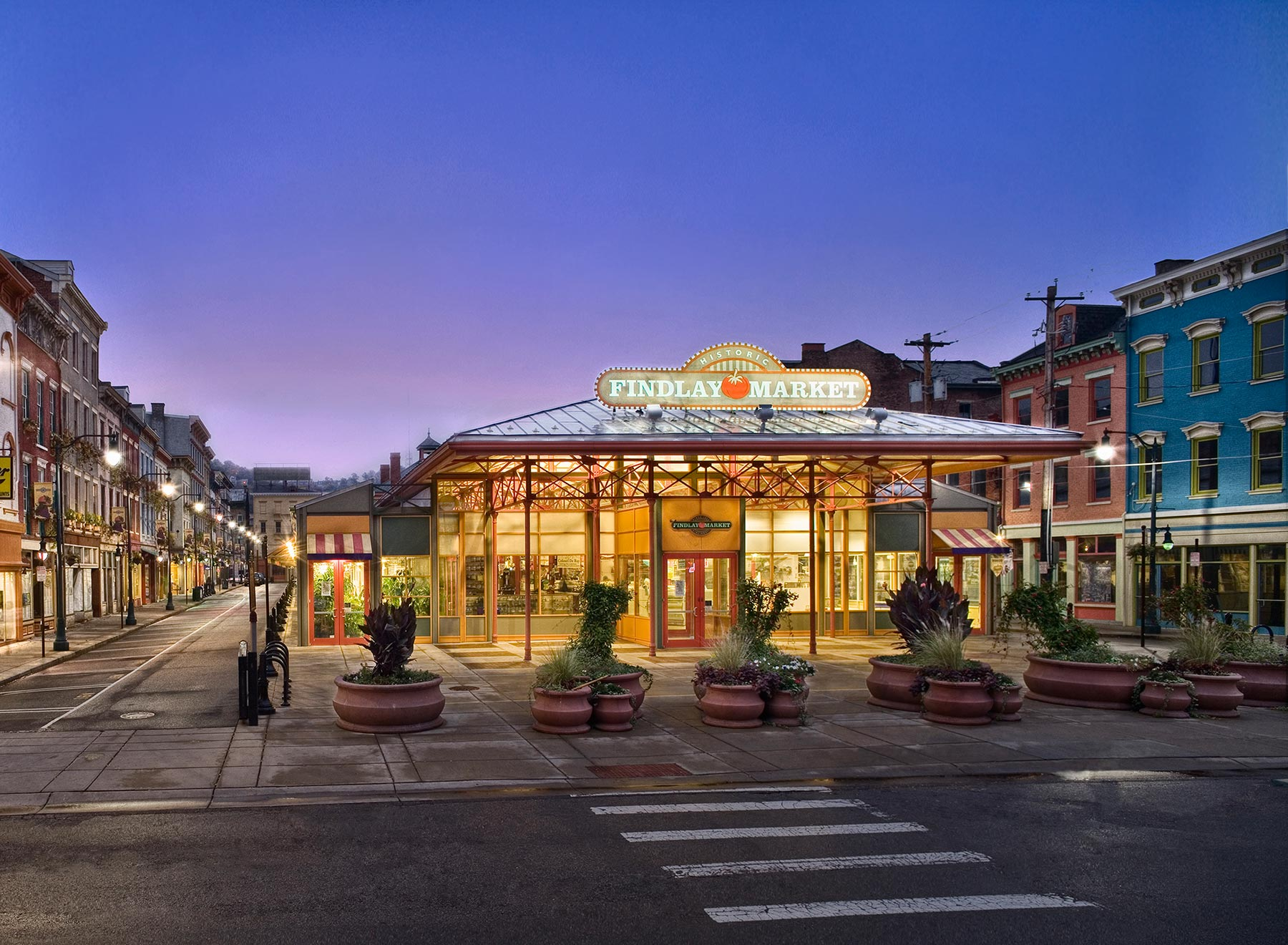 Cincinnati Findlay Market Urban City Architectural Photography